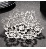Bridal tiara Rhinestone Glass Hat Bridal wedding Accessories