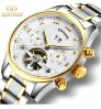 New authentic fashion high-end men's mechanical Multi-functional watch Roman characters