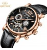 Genuine High-quality new fashion automatic hollow men's mechanical watch
