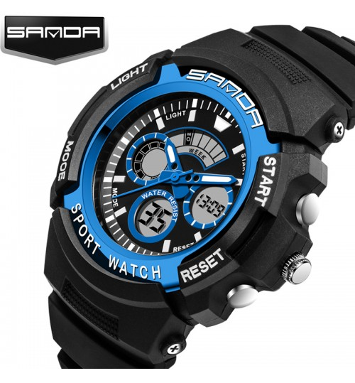 Cold light waterproof LED sports watch male female students children's electronic watches