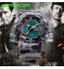 Men's double display outdoor sports waterproof watch mountaineering electronic watch for students