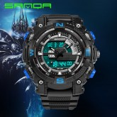 Youth outdoor sports wrist watch high school student boy waterproof luminous electronic watchs