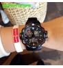 Fashion outdoor sports multi-function dual display electronic watch waterproof men women college students watches