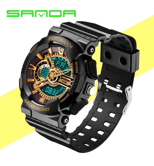 Fashion watches waterproof outdoor sports boys girls children's electronic watch