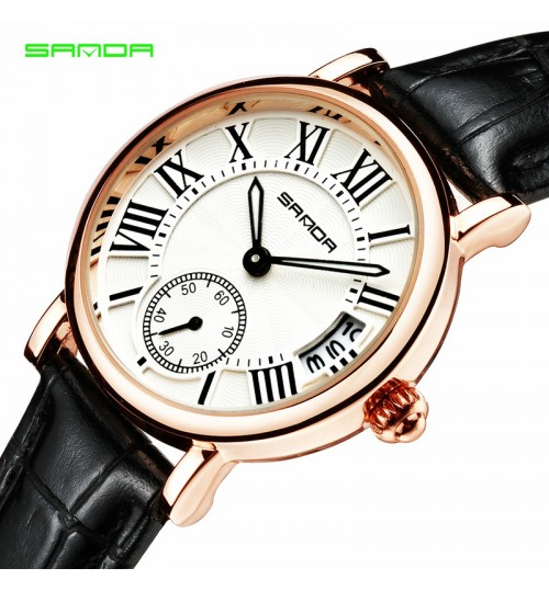Authentic women watch fashion simple compact waterproof personalized delicate strap