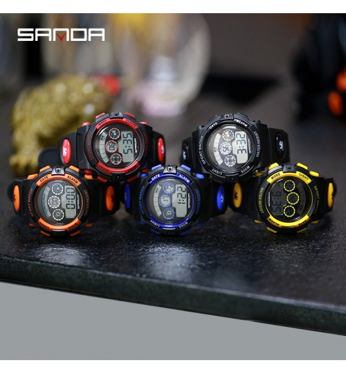 New children's electronic watch movement waterproof wristwatch for boy girl students