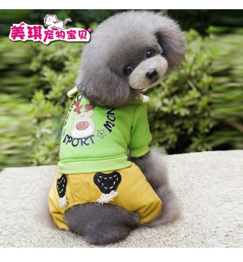 Dog clothes new cute pet coats puppy warm Shirts Tops for fall and winter