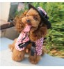 Dog Clothes Halloween Dog Wig Christmas Pet Clothes Shawl Cape Cloak