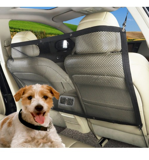 Car Security Fence Pet barrier dog separation net seat protective screening