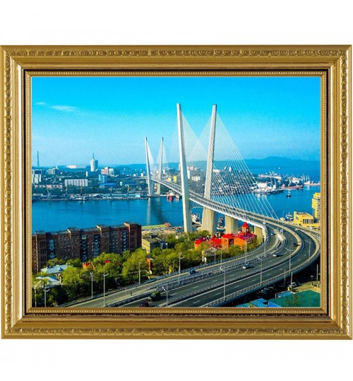 Diamond painting DIY city scenery embroidery manufacturers custom-made handicraft