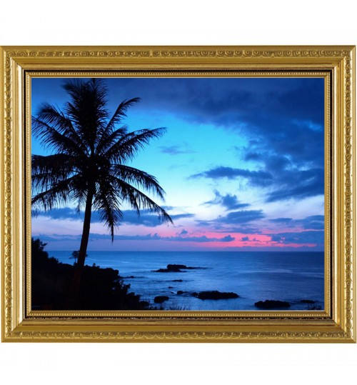 Diamond painting DIY seaside Scenery hand made large embroidery living room decoration