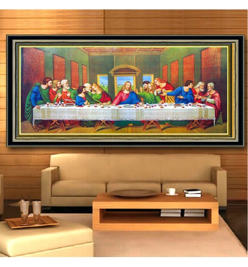 5D Diamond Painting Embroidery DIY Square Diamond Cross-Stitch Last Dinner