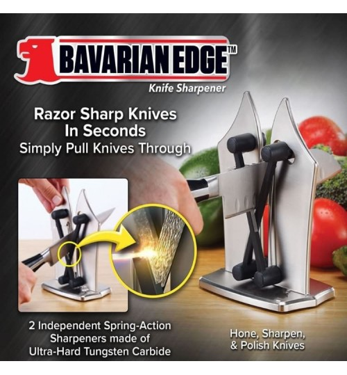 Bavarian Edge kitchen Knife Sharpener household ABS tungsten steel whetstone