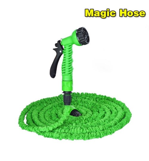 Home garden 3 times telescopic water pipe multi-function high-pressure car cleaning gun garden watering equipment suit
