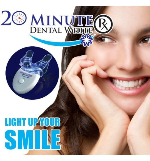 TV Teeth Whitening Set 20 minutes dental white professional Cold Light Tooth Whitening tool kit