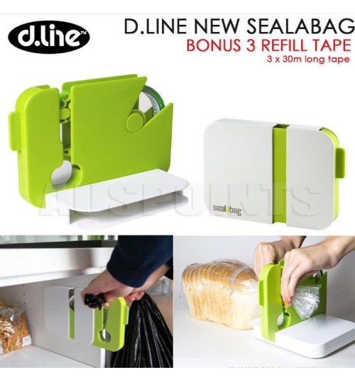 Bag sealing machine seal any bag anywhere small fixable household portable kitchen sealing device
