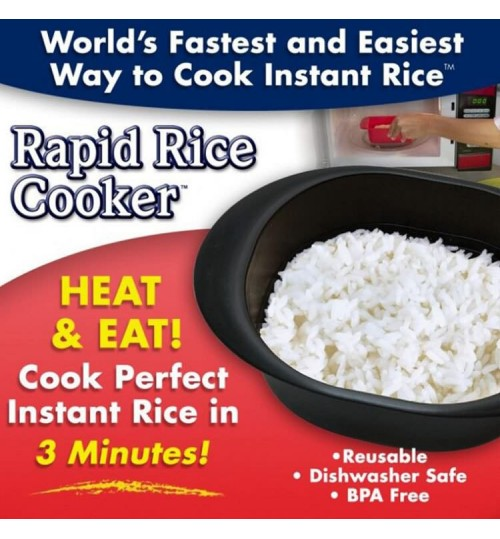 New rapid rice cooker creative microwave cook instant rice ramen Japanese household simple bowl