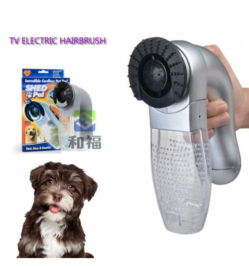 Pet hair brush animal hair suction device portable cat dog massage cleaning vacuum cleaner
