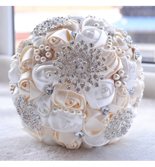 D453 bride simulation hand holding flowers wedding supplies gifts