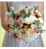 D520 Simulation flower wedding gift supplies creative outdoor style bride holding flowers