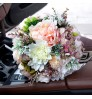 D558 Wedding Gifts European Peony Bride's hand Bouquet Holiday Supplies Simulation flowers