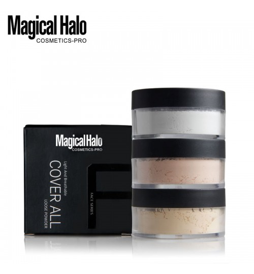 Magical Halo oil control breathable makeup transparent powder 24 hours long lasting anti-sweat makeup powder