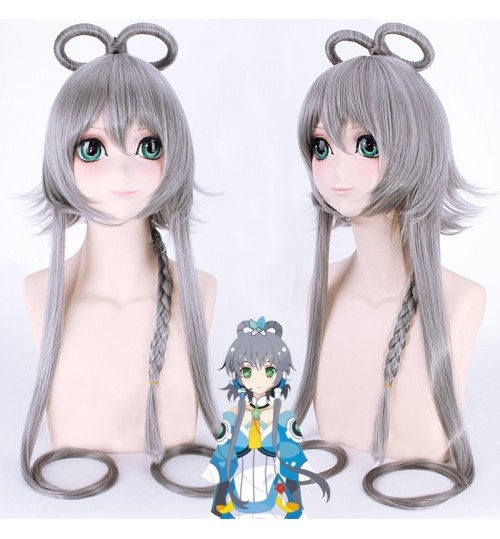 cosplay wig Asian College students Schoolgirl Vocaloid cos hair