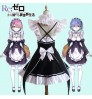 Japan TV animation WHITE FOX role Rem Ram cosplay wig accessories clothing