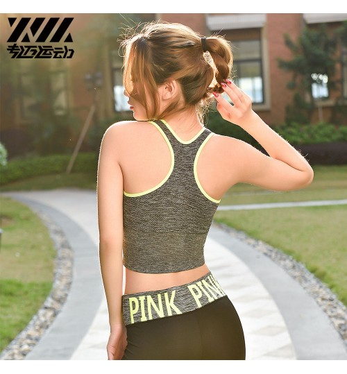 Moderate-intensity Physical Activity high-intensity sports underwear running yoga fitness stereotype One-piece push ups bra