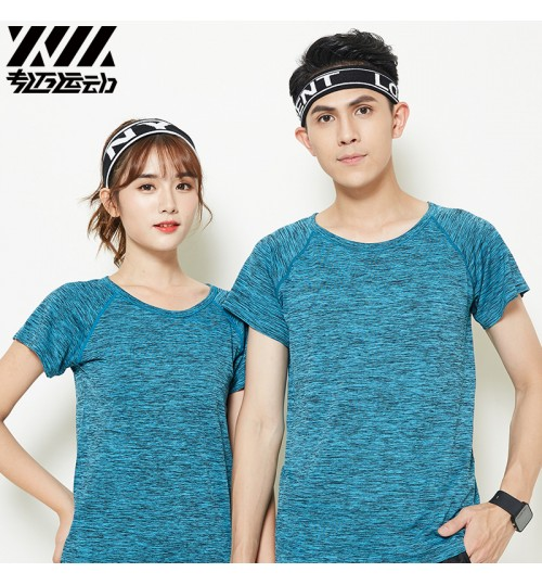 cheap sports T-shirt quick-drying short-sleeved summer new running fitness seamless loose clothes