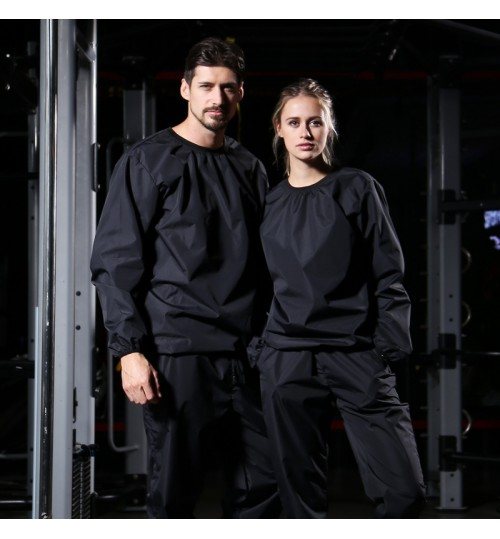 Sweat suit women men body building running fitness autumn new large size clothes