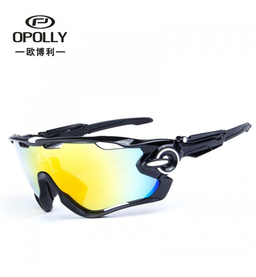 09270 bicycle glasses colorful cycling outdoor sports polarized sunglasses