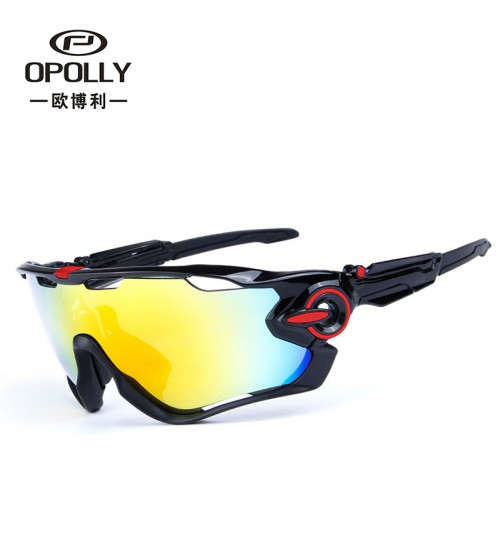 Wholesale outdoor polarized glasses men and women myopia riding fishing glasses five pieces lens