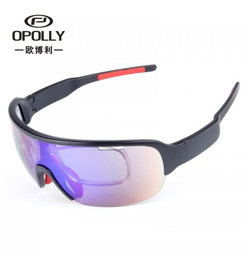 Men and women fashion motorcycle riding glasses half frame 5 pieces lens Sand-proof polarizer multi-function