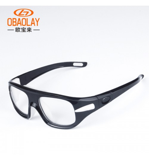 basketball football outdoor sports plain glasses multi-color frame myopia anti-fog goggles