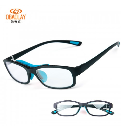 new outdoor sports basketball glasses TR90 frame shock-proof myopia for men and women