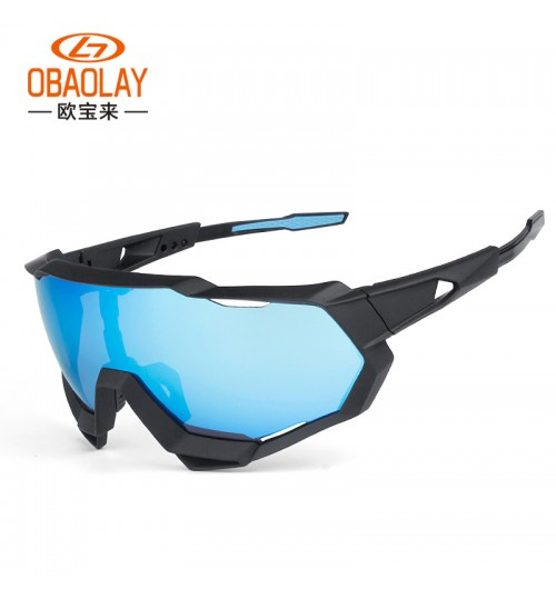 100% Speedtrap changeable large lens UV protection sports glasses cycling goggles