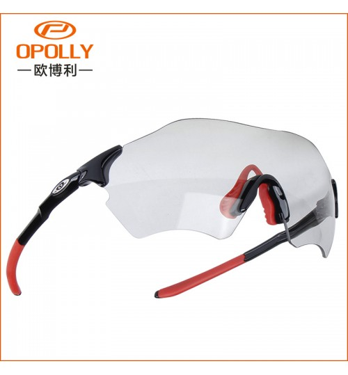 Wholesale color-changing men's polarized sunglasses riding sports glasses