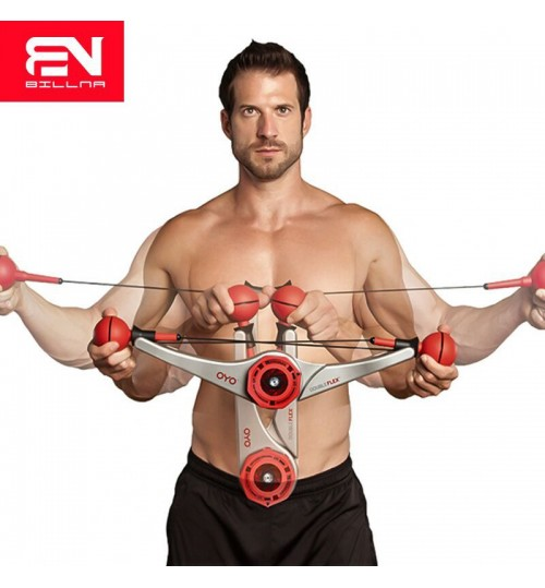 multi-function arm exercise apparatus chest expander home body training equipment puller 5-15 pounds