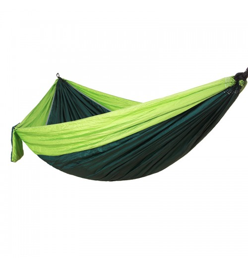 outdoor nylon parachute cloth hammock hanging sheets single double camping leisure swing chair
