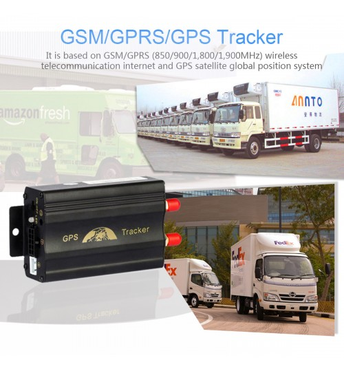 TK103A+ GPS locator Manufacturer car positioning GPS103A GPS tracker vehicle tracking equipment oil quantity monitor
