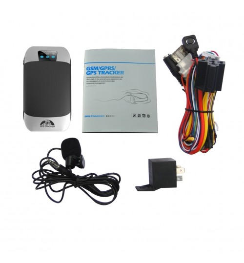 GPS303H Motorcycle electric car micro GPS tracker alarm GPS locator TK303h