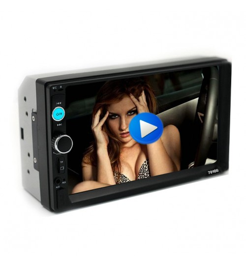 New HD 7 inch car MP5 MP4 MP3 player Bluetooth hands-free reversing radio