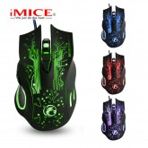 X9 USB optical mouse colorful LOL gaming mouse