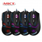 X8 Wired lighting Game Mouse 4 adjustable dpi