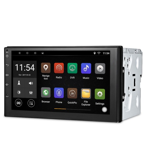 New 7 inch Android universal car navigation mp5 player radio RDS video output 7.0 8.0 version