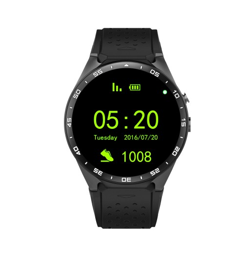 New KW88 Android system 3G smartwatch wifi download GPS positioning heart rate Bluetooth watch mobile phone