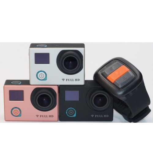 F88BR dual screen wifi remote control HD waterproof outdoor sports camera DV aerial mini camera
