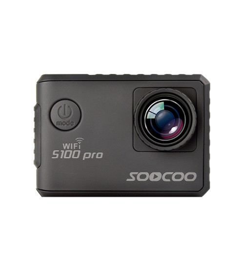 S100Pro 4K sports camera intelligent voice control touch screen WIFI waterproof action camera