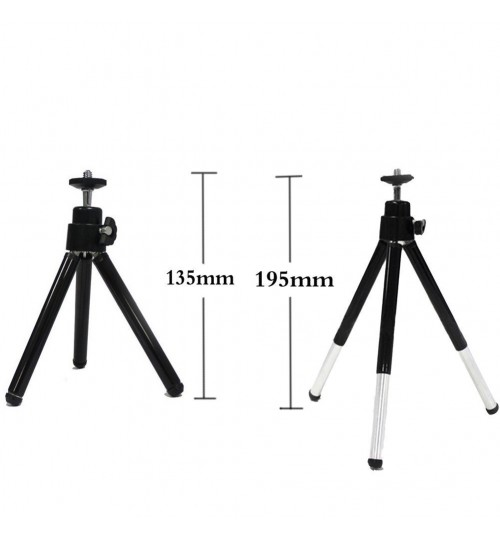 Mobile phone SLR digital camera mini tripod Micro projector small desktop triangle bracket aluminum alloy